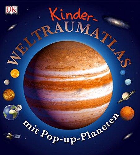Kinder-Weltraumatlas mit Pop-up-Planeten