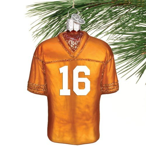 Tennessee Volunteers Christmas Stocking - Tennessee Football Jersey Ornament
