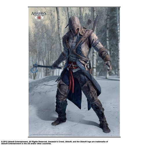 Square Enix - Wall Scroll Assassin's Creed III Vol.1 - 4988601320696