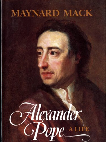 Alexander Pope: A Life