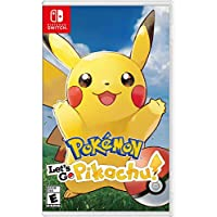 Deals on Pokemon: Lets Go Pikachu Nintendo Switch + Steelbook