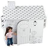 Fits American Girl Doll House | 18 Inch Doll Play House | Ready to Paint & Decorate by Emily Rose Doll Clothes