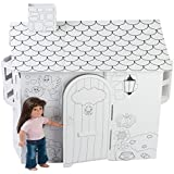 Fits American Girl Doll House | 18 Inch Doll Play House | Ready to Paint & Decorate