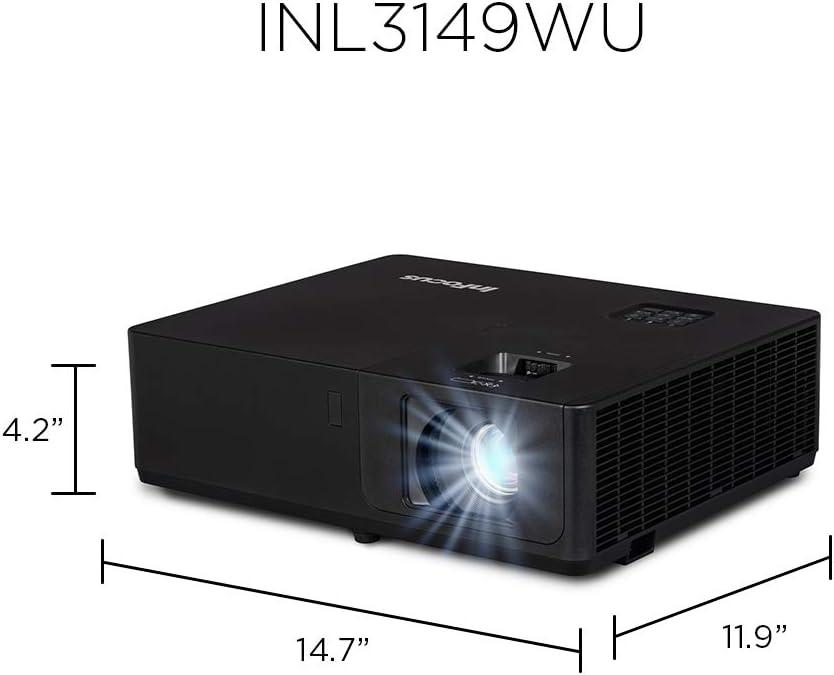 Infocus INL3149WU Video - Proyector (5500 lúmenes ANSI, DLP, WUXGA ...