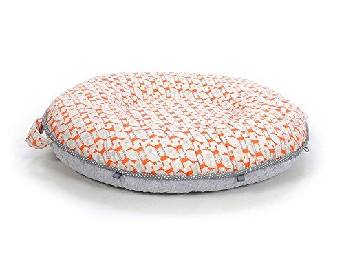 Pello Luxe Floor Pillows : GPL/ Pello Multi-use Luxe Baby-Toddler Floor Pillow/Play Mat/Lounger, Chase/Gray/ship from USA ...
