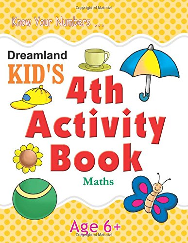 4th Activity Book - Maths (Kid's Activity Books)