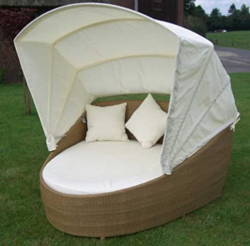 liegeinsel polyrattan. Black Bedroom Furniture Sets. Home Design Ideas