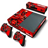 Xbox One Console Skin Decal Sticker Deadpool + 2 Controller & Kinect Skins Set