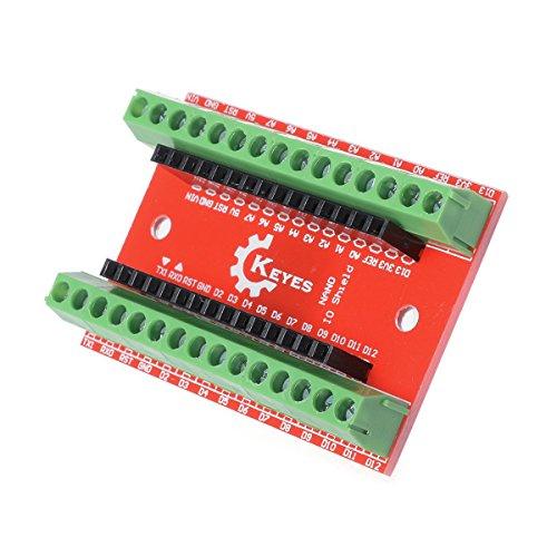 Price comparison product image SODIAL(R) 2 PCS Terminal Adapter board for Arduino Nano V3.0 AVR ATMEGA328P-AU Module