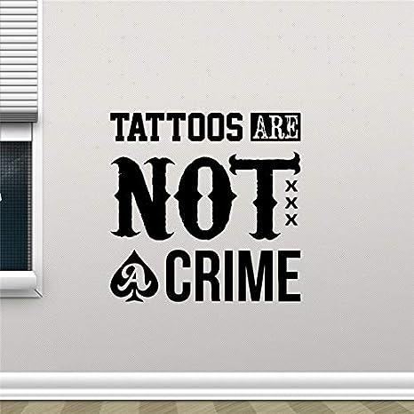58 * 58 cm Neymar los tatuajes no son un crimen Tatuajes de pared ...