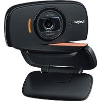 Camara web para video conferencias logitech b525 hd video 720 p con giro de 360 grados y diseño plegable