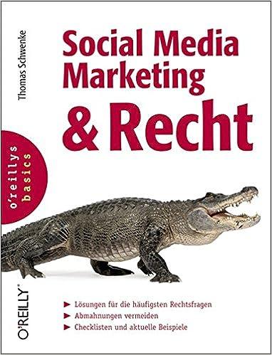Cover des Buchs: Social Media Marketing und Recht