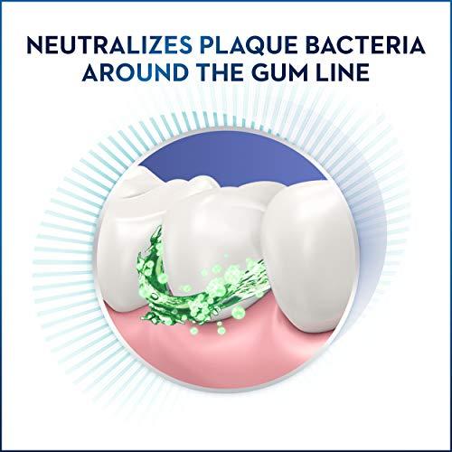 Crest Gum Care Mouthwash, Cool Wintergreen, 16.9 fl oz. (Pack of 4)
