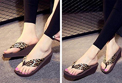 Pantofole Da Scarpe Con Spessa Sandali Spiaggia Pengweiforme Inferiore 3 Pendenza 6fA0Txq5