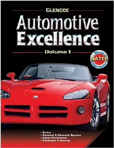 Automotive Excellence, Volume 1, Student Text 2nd Edition