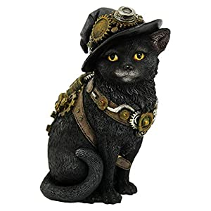 Clockwork Kitty 16.5cm Figurine