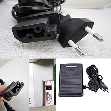 EDtara - Cable para máquina de Coser doméstica (200-240 V, con ...