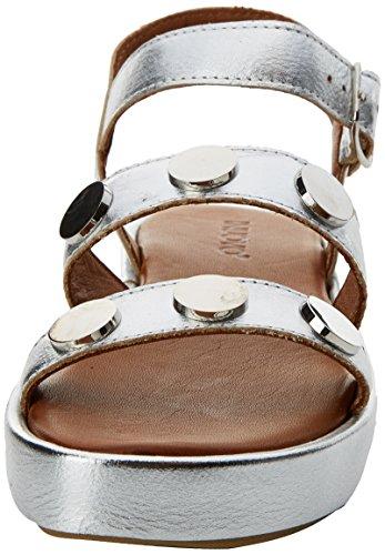 Sandals Strap 9000 16778935 Inuovo Silver Women's Ankle Silver qIwWnRUtc