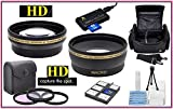 Super Saving Hi Def Lens Filter Accessory Package For Nikon D3400 D5600 (55mm Compatible)