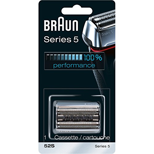 Braun Series 5 52S Foil & Cutter Replacement Head, Compatible with Models 5090/5190cc, 5040/5140s, 5030s, 5147s, 5197cc