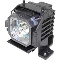 Emazne ELPLP31/V13H010L31 Projector Replacement Compatible Lamp With Housing For Epson PowerLite 830p