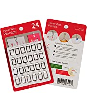 Fabric Panel Wall Clips and Hooks, Pin Clips for Office Clothes Cubicle Walls, Cloth Partitions
