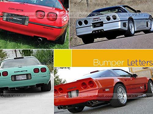 corvette c4 chrome letters - 8