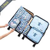 package lights - 7pcs Travel Organizers Packing Bags, Storage Cubes Set, Luggage Sorting Packages