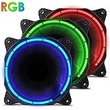 anidees AI Halo RGB Triplo insieme ventilatore 120 millimetri con un elevato flusso d'aria e l'illuminazione a LED - RGB