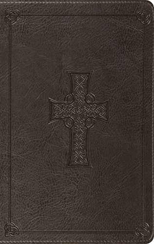 ESV Value Thinline Bible (TruTone, Charcoal, Celtic Cross Design) (Celtic Esv Bible Cross)