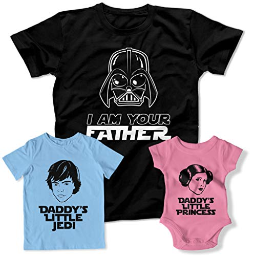 89c83259 I Am Your Father Daddy's Little Princess Family Matching Outfits Matching  Family Shirts TEP-1971-72-73. by teepinch