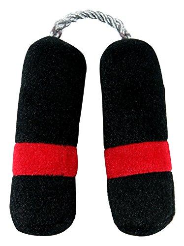 Anit-Accessories-Nun-Chucks-Plush-Toy-Black