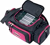 Cabela's Ladies Pink Fishing Utility Bag with 4 Tackle Boxes