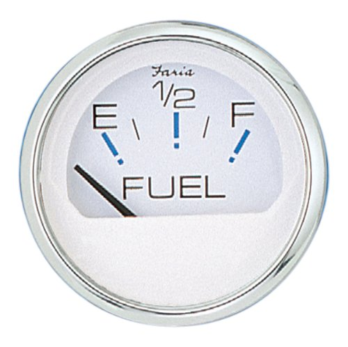 Faria Oil - Faria 3003.3544 13801 Fuel Level Gauge-Chesapeake White