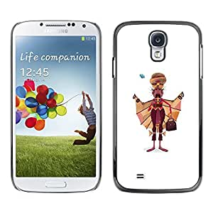 All Phone Most Case / Hard PC Metal piece Shell Slim Cover Protective Case Carcasa Funda Caso de protección para Samsung Galaxy S4 I9500 Sikhism Indian Man Moustache Art Painting
