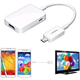 Micro USB MHL 2.0 To HDMI HDTV Adapter Cable For Samsung Galaxy S4 S5 Note