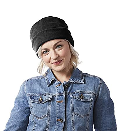 Amazon.com   Screamer Women s Fleece Rollup Hat aa80b794ba96