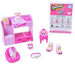 Shopkins Fashion Pack Slumber Fun Collection