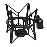LyxPro MKS1-B Studio Condenser Spider Shockmount, Anti Vibration and Isolation - Black