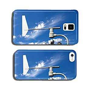 Wind power blades against a blue sky cell phone cover case iPhone6 Plus