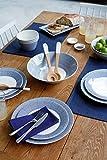Royal Doulton Pacific Dots 16 Piece Dinner Set, White