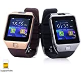 ShopAIS Bluetooth Smart Watch Phone With Camera/Wrist Watch & Sim Card Support for Android/iOS Devices