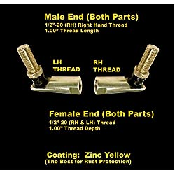(1 Set) John Deere M82572 Tie Rod Rebuild Kit 212,
