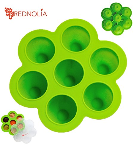 REDNOLIA Multiportion Silicone Container BreastMilk
