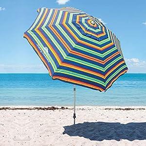 TECNOVOZ Sombrilla para la Playa Tommy Bahama 1327294 Rayas