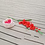 MonkeyJack-Artificial-Plants-Flowers-Wedding-Flower-Gladioli-Gladiolus-stem-8-Colors-Red-80cm