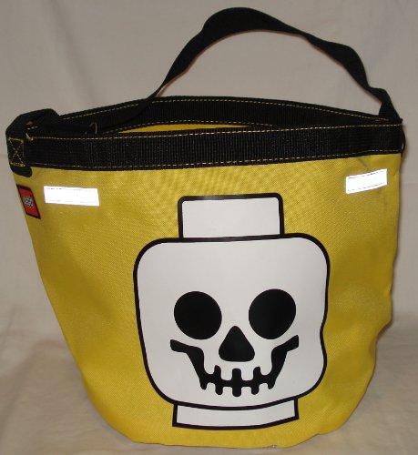 LEGO yellow bucket Halloween Yellow