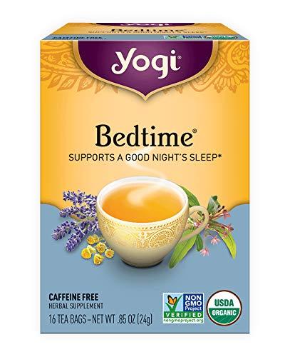 Yogi Tea, Bedtime, No Caffeine, 16 Tea Bags, .85 ounces (24 grams)