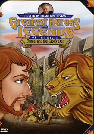 greatest heroes and legends of the bible daniel and the lions den
