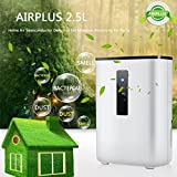 2.5L Home Office Electric Dehumidifier Semiconductor Desiccant Moisture Absorbing Air Freshener Purifier ,Quiet